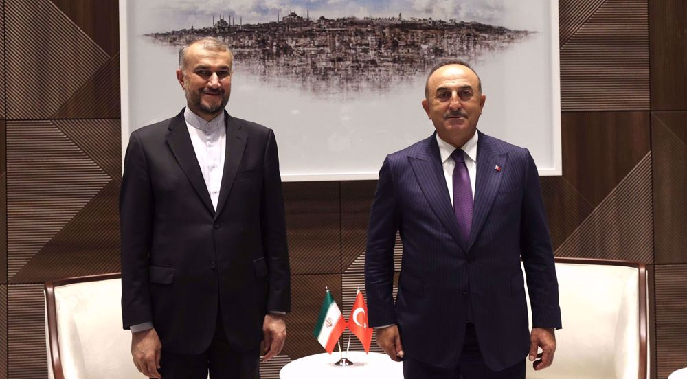 Iranian, Turkish FMs voice concern over Daesh terror attacks in Afghanistan