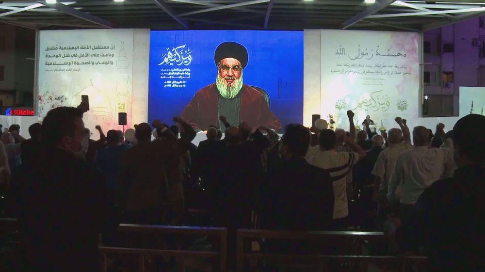 Hezbollah's leader warns Israelis against drilling in disputed waters