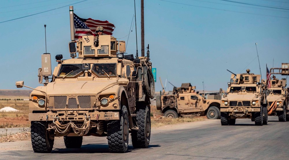 Syrian army forces block US military convoy in Hasakah