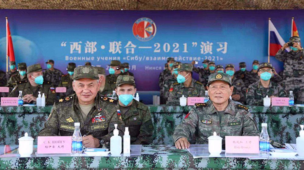 China-Russia military drills