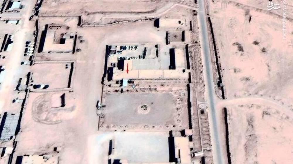 Le Fateh-110 a frappé al-Tanf !