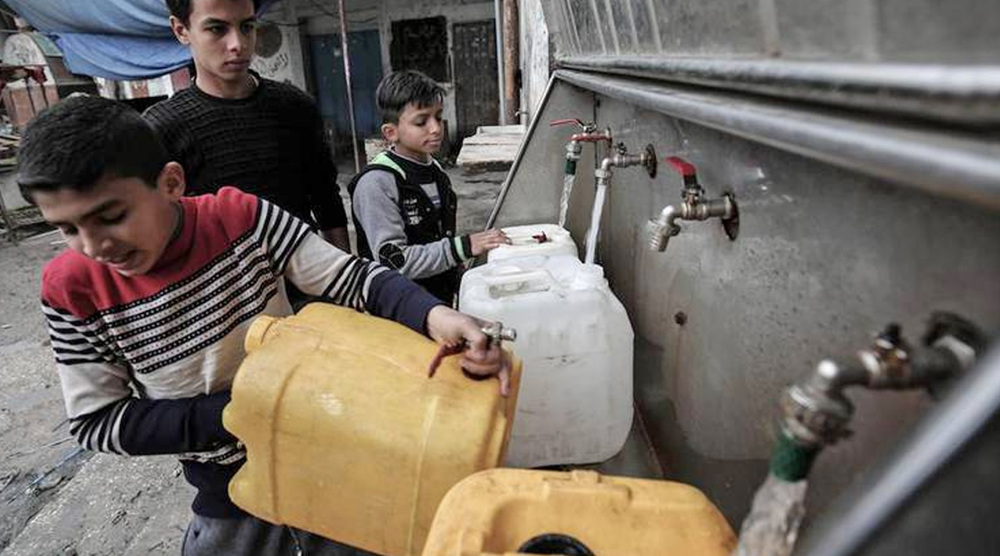 Rights advocates sound alarm on deteriorating water situation in Gaza