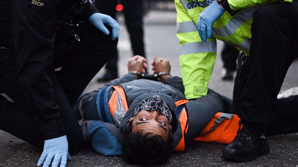 UK climate protesters restart traffic-blocking tactics