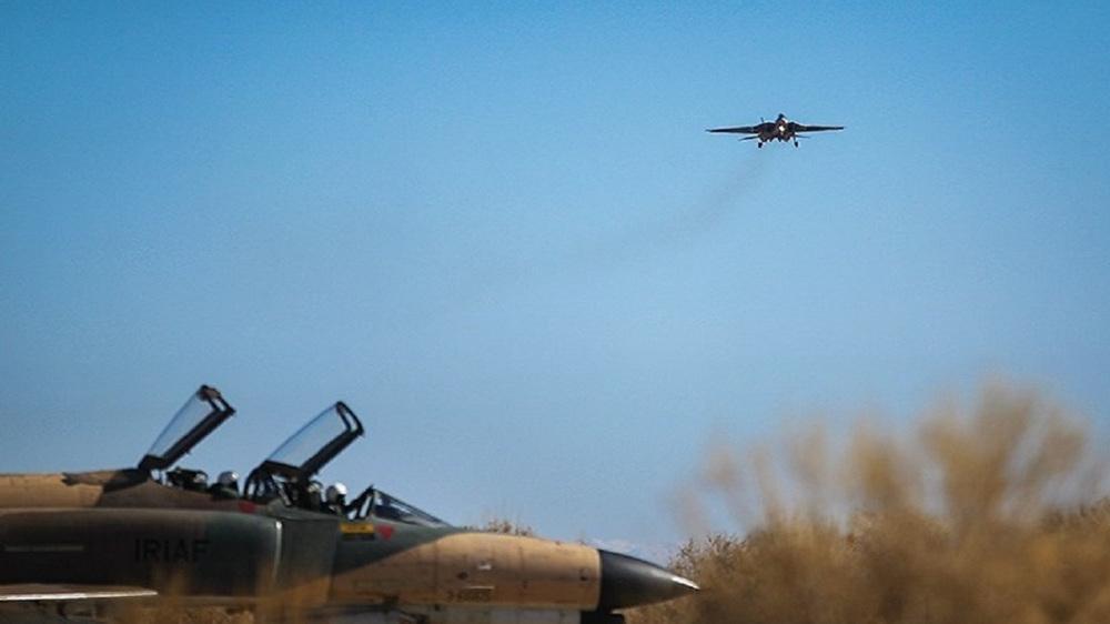 Armée de l'air iranienne mobilisée
