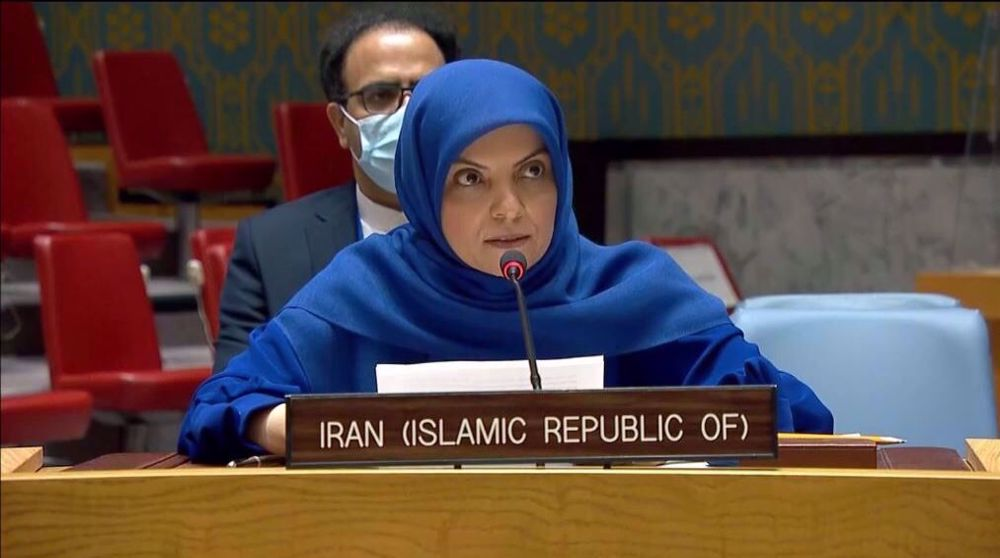 'Terrorist groups, source of special rapporteur's human rights report on Iran'