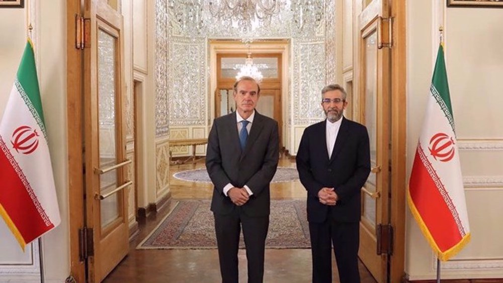 Iran's top negotiator to discuss sanctions removal talks with EU's Mora on Wed.