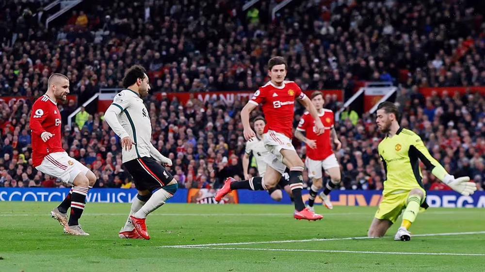 English Premiere League: Liverpool 5-0 Manchester United