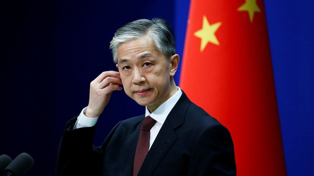 China urges US to stop sending wrong signals to Chinese Taipei