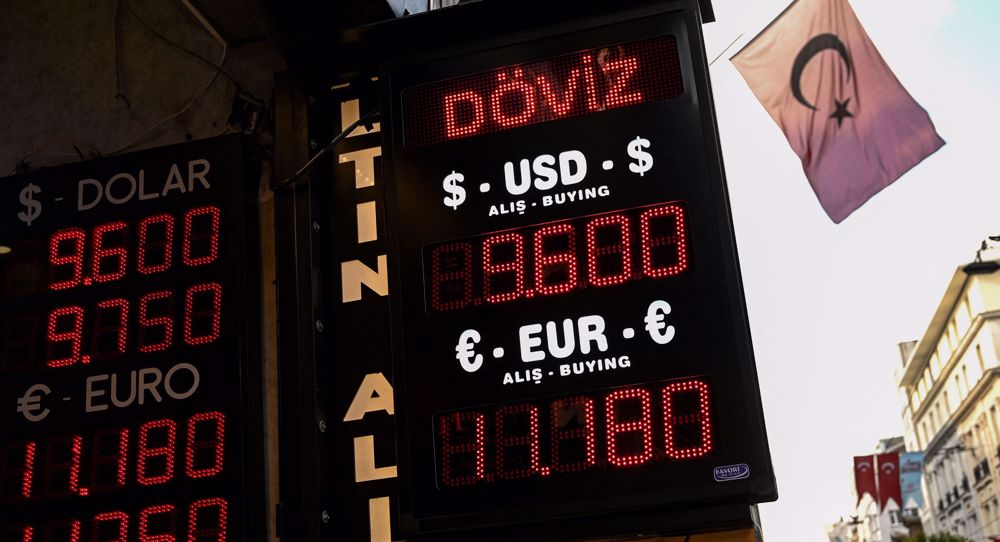 Turkish lira drops to historic low amid Ankara's tensions with West