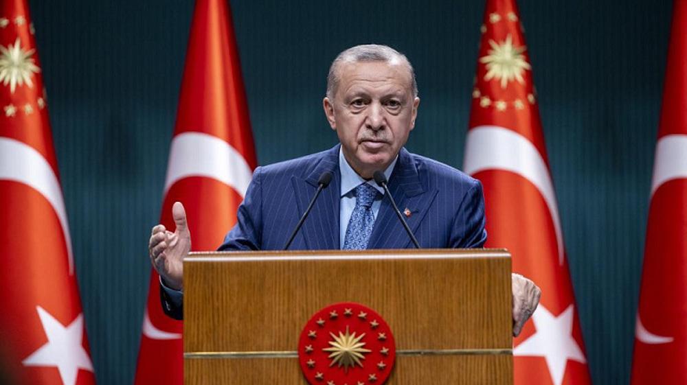 Turkey's Erdogan lifts threat of expelling 10 Western ambassadors
