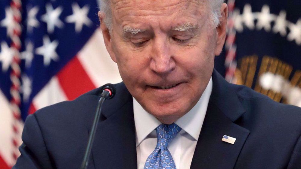 Biden's approval rating dips to new low of his presidency