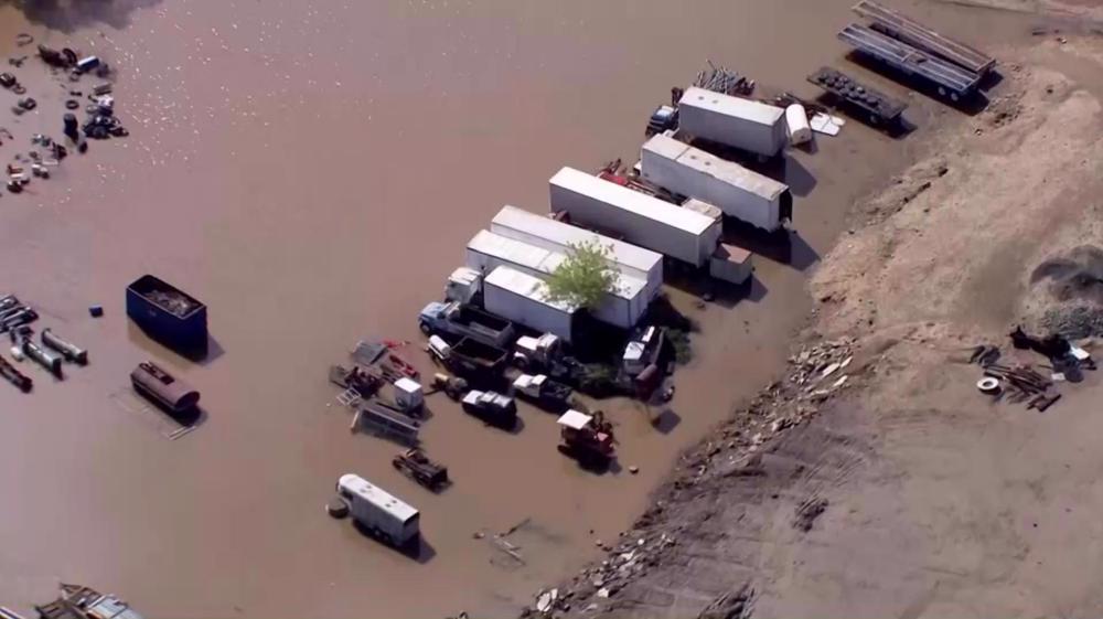 Heavy rains leave California capital flooded