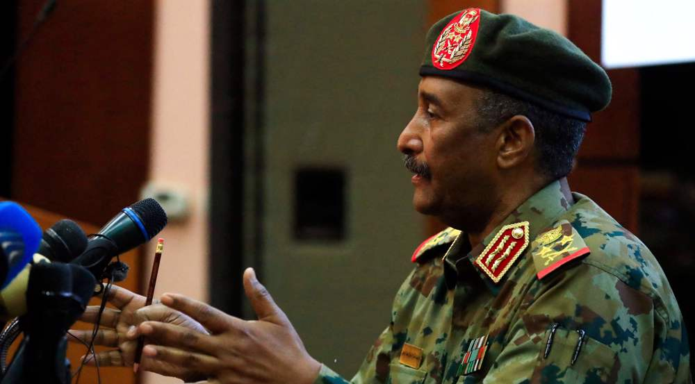 Sudan's military chief says government ousted to avoid civil war