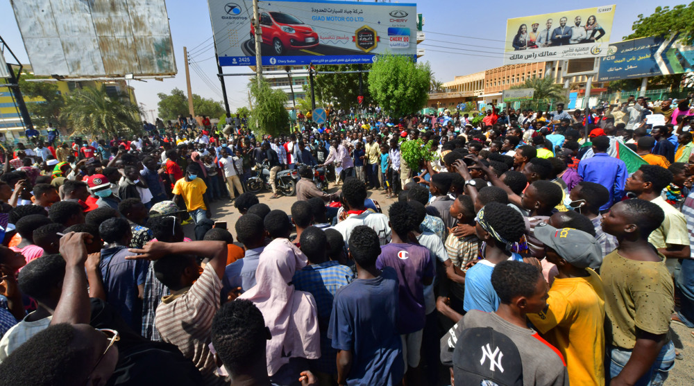 Protests continue in Sudan a day after military takeover