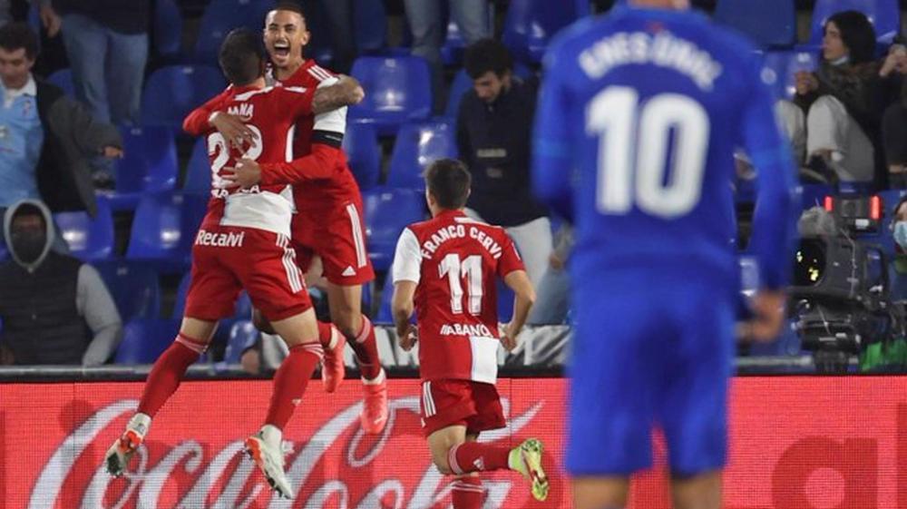 Spanish La Liga: Celta Vigo 3-0 Getafe