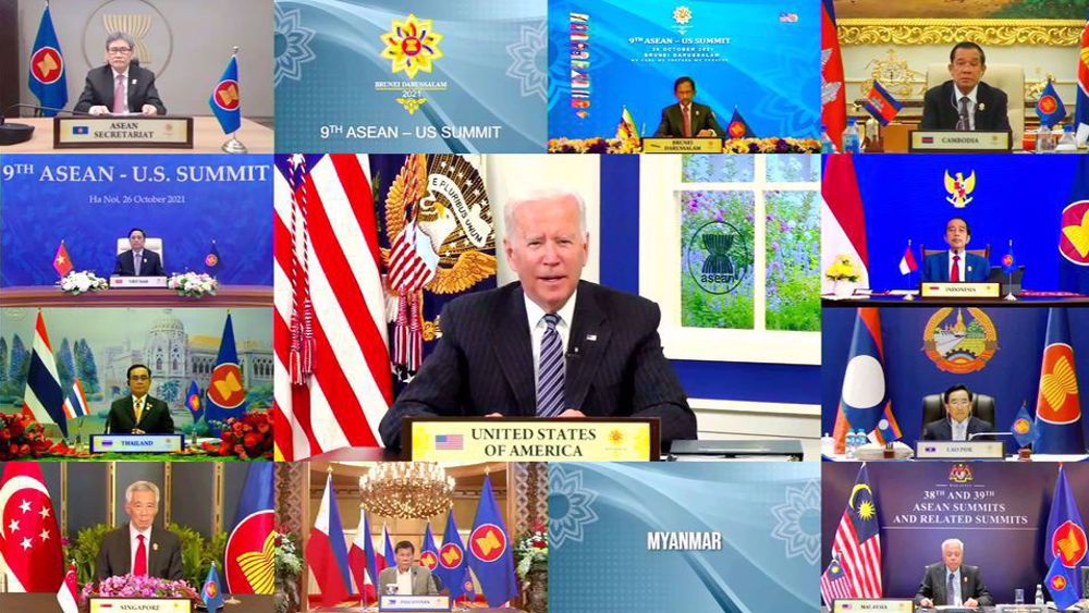 Biden: US concerned about China's measures in Taiwan Strait