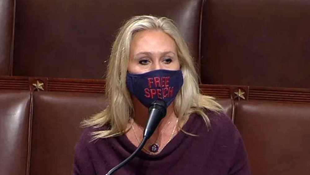 US representative defends Jan. 6 events as 'just a riot'