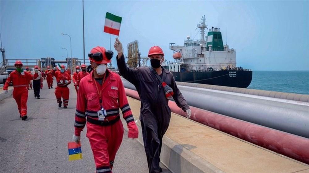 Le pétrole vénézuélien en Iran ...et