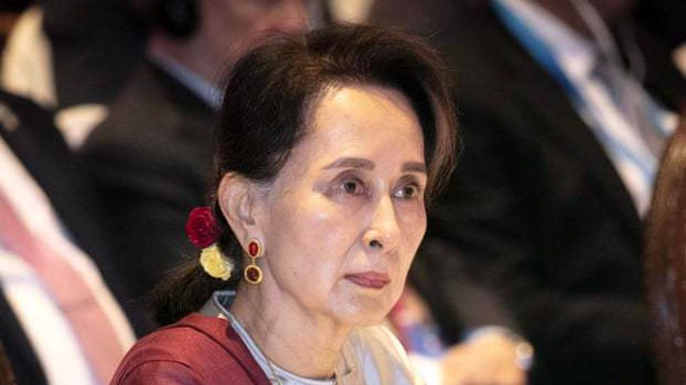 Myanmar's Suu Kyi denies  charge of incitement in first court testimony