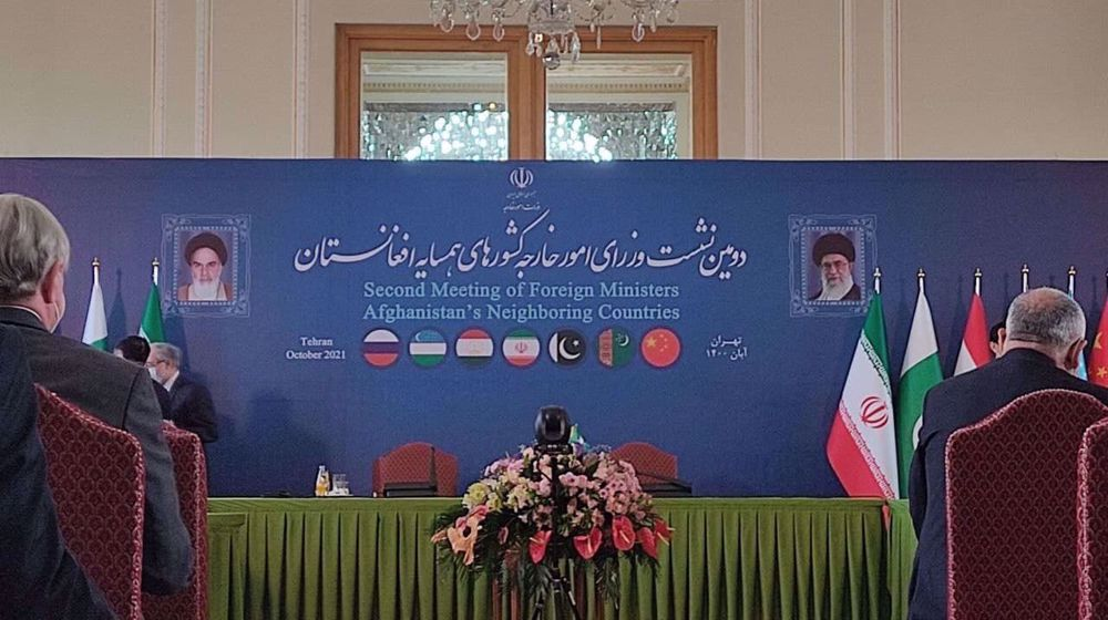 Iran capital hosting second meeting of Afghanistan's six neighbors
