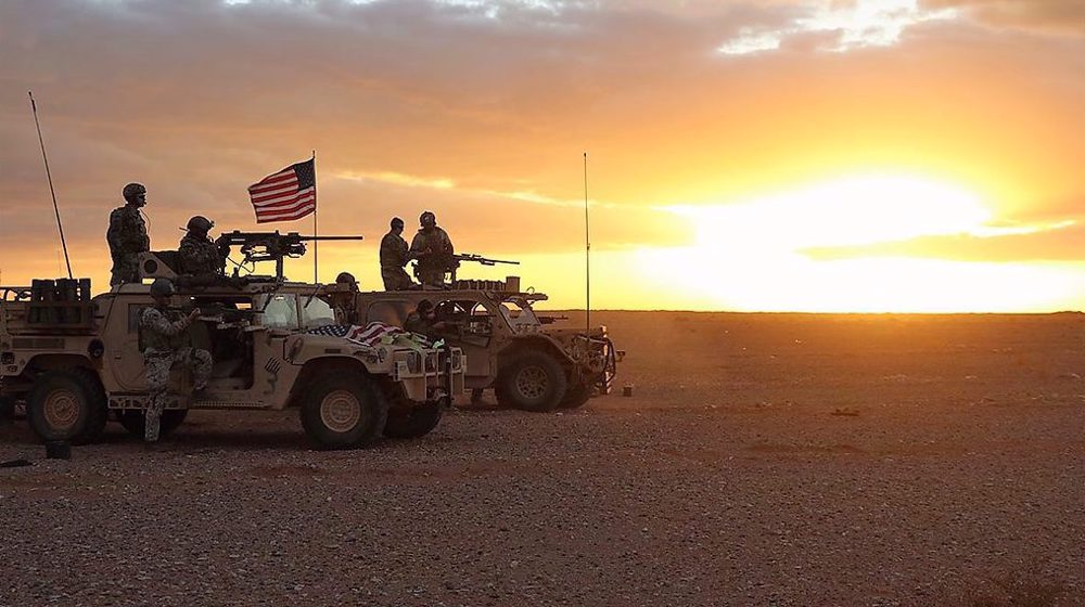 'US military pulled hundreds of troops from Syria's base ahead of strike'