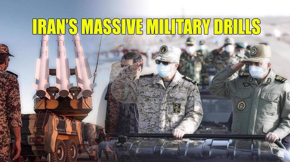 Iran's massive military drills: No tolerance for Israeli and Daesh presence on border