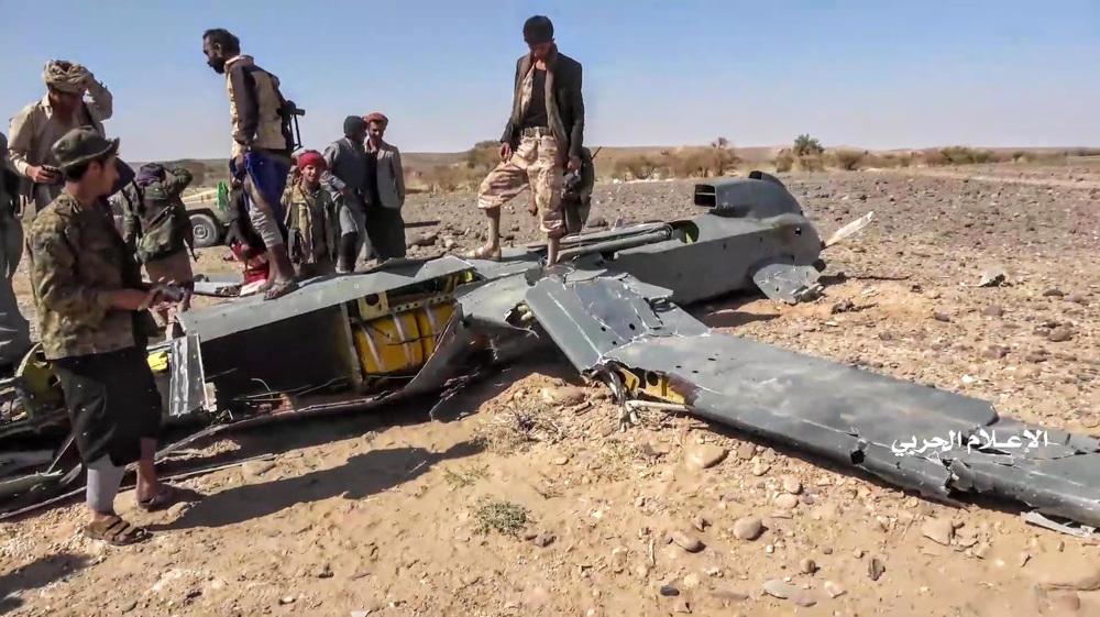 Yemeni air defenses shoot down intruding Saudi-led spy drone