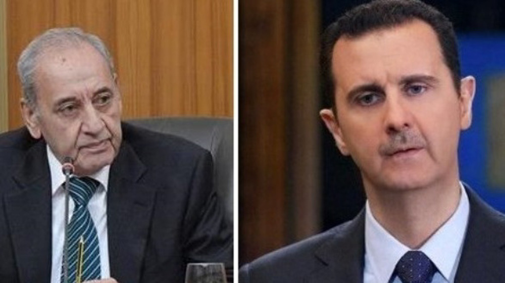 Syria proved Israel's weakness in face of resistance, Lebanon's Berri tells Assad