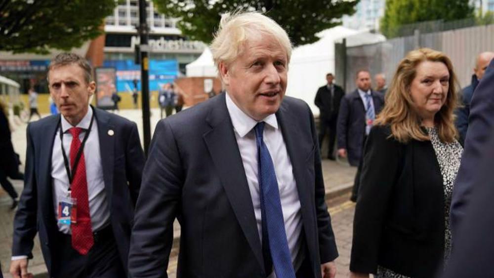 Johnson denies UK is in crisis as £6bn benefit cut bites