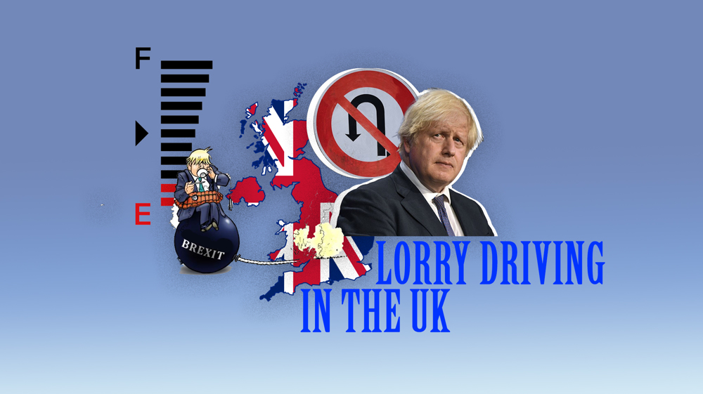 Lorry driving in the UK