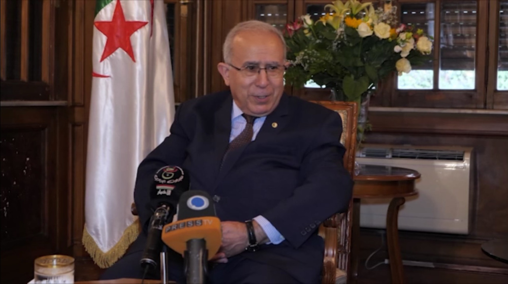 Exclusive: Algeria FM rejects foreign meddling amid tensions with France