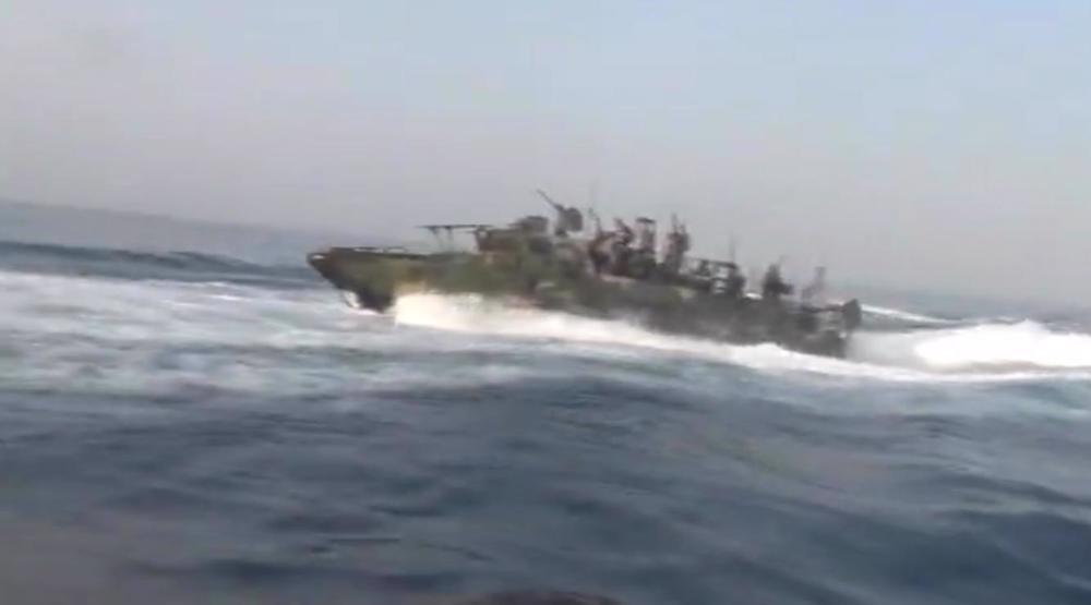 US Navy intercepté par le CGRI