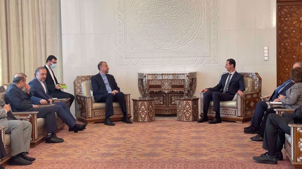 President Assad: US Afghanistan pullout proof of Western powers' collapse