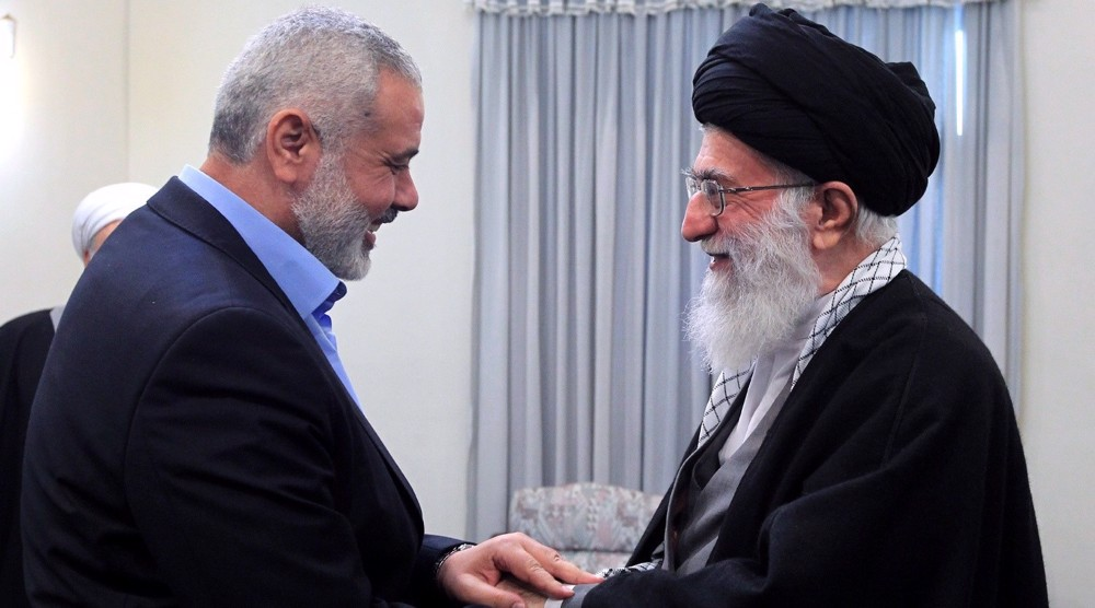 Hamas hails Iran Leader's firm position in defense of Palestine