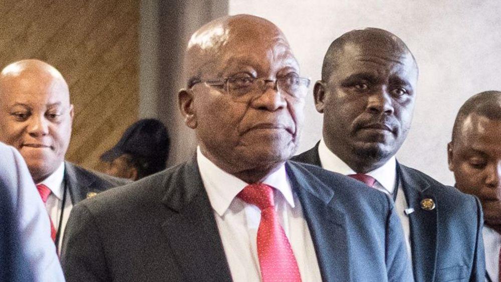 South Africa's Zuma skips corruption inquiry