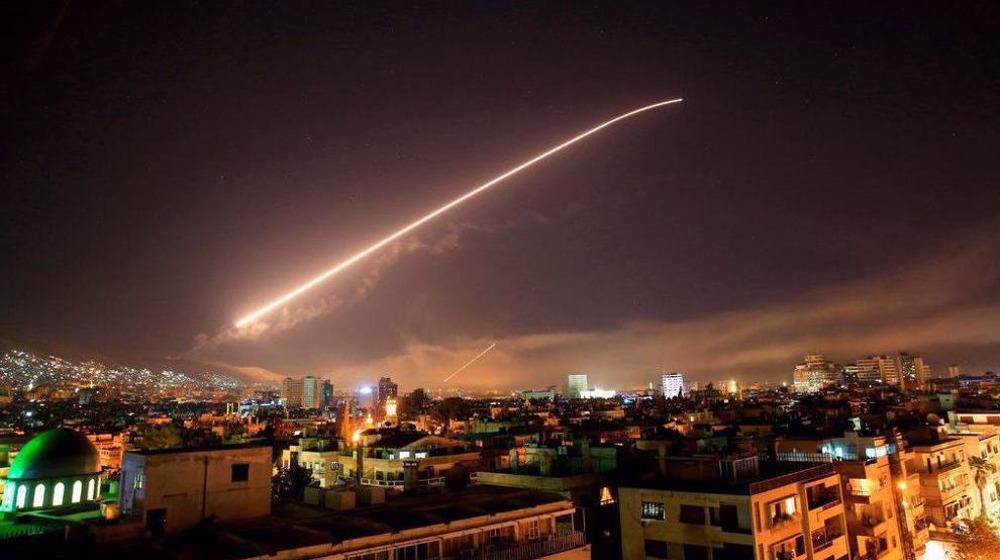 Syrian air defenses thwart Israeli attack on Damascus