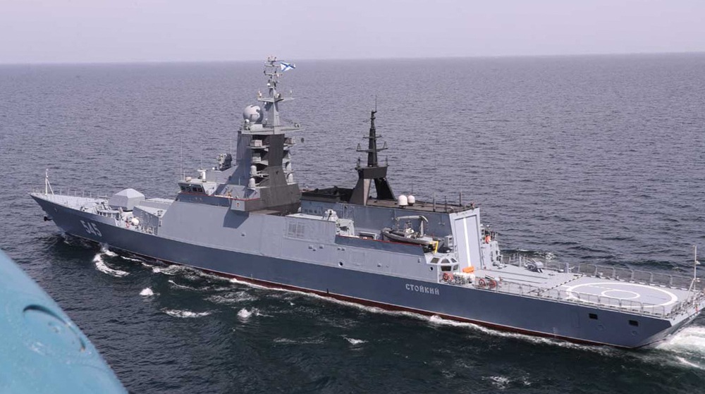 Iran, Russia hold large-scale naval drill in strategic waters