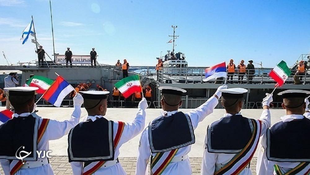 Iran/Russie préparent la guerre?