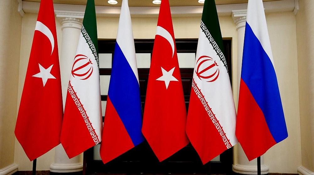 Peace guarantors stress respect for Syria sovereignty, eradicating terror
