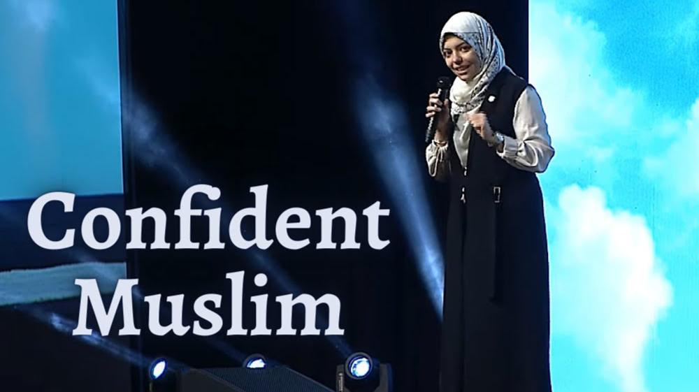 Confident Muslim
