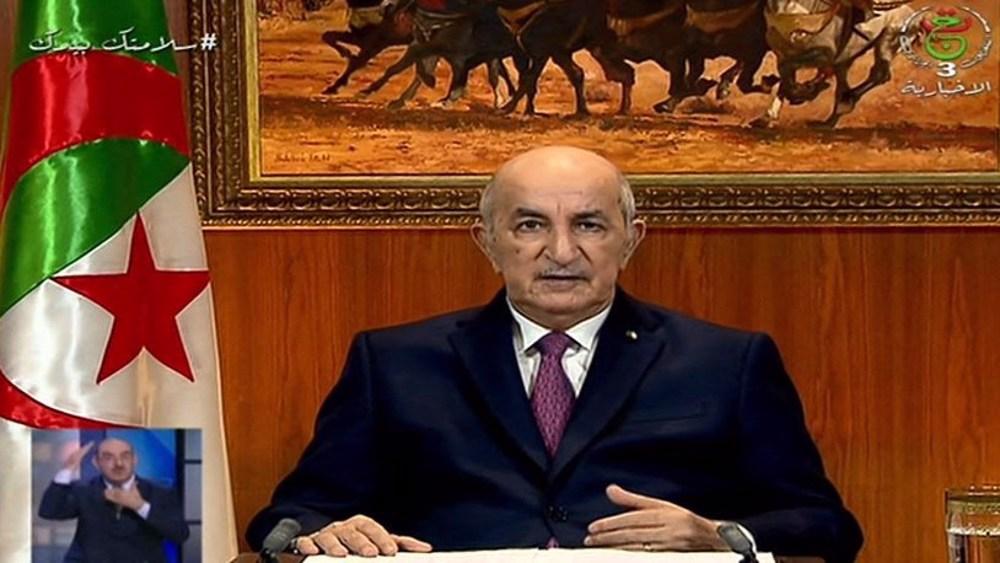 Algerian president dissolves parliament amid protests