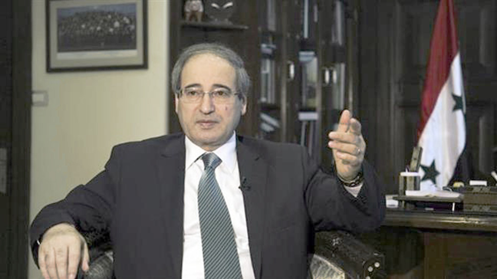 Syria determined to continue fight against terrorism: FM