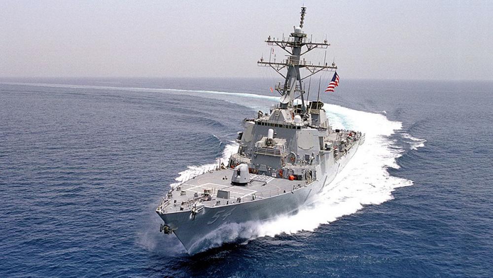 US undermining regional stability by sailing warships through Taiwan Strait: China