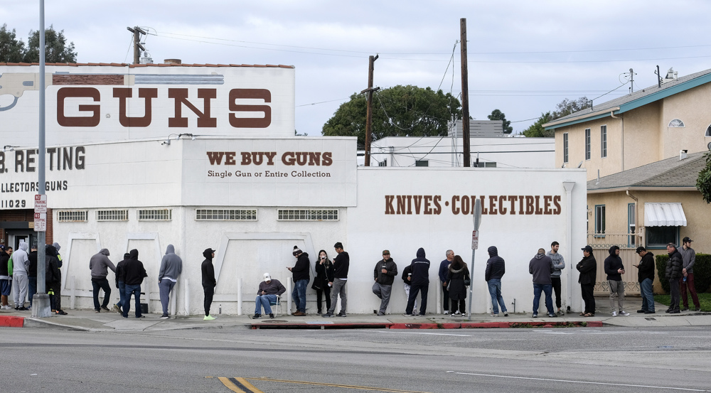 US gun sales in January set new record amid fears of violence, political tensions