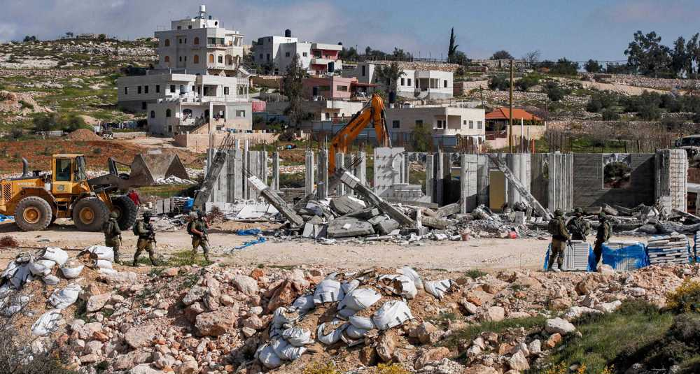Israeli plot to demolish more Palestinian homes amounts to 'ethnic cleansing': Rights group