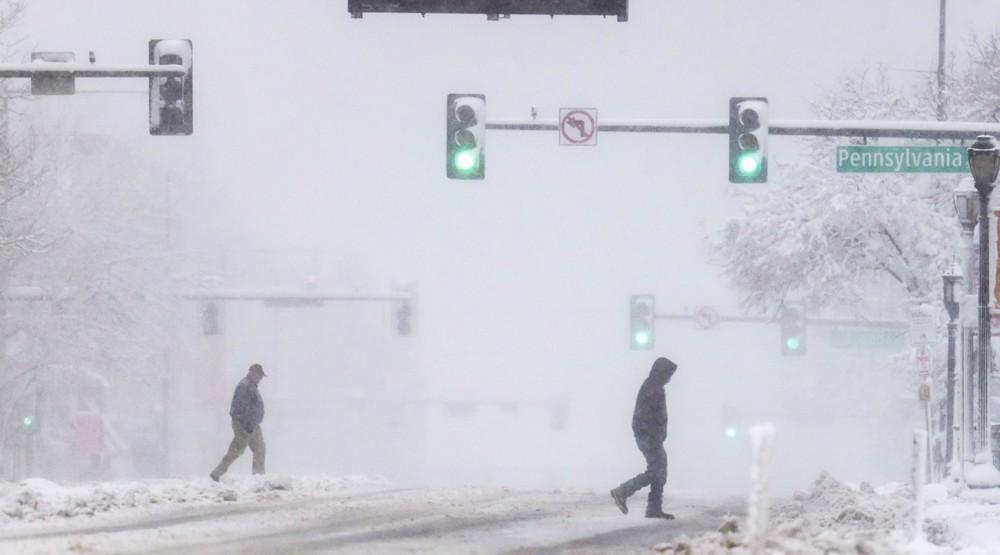 Dangerous winter storm pummels western US as hundreds of flights canceled