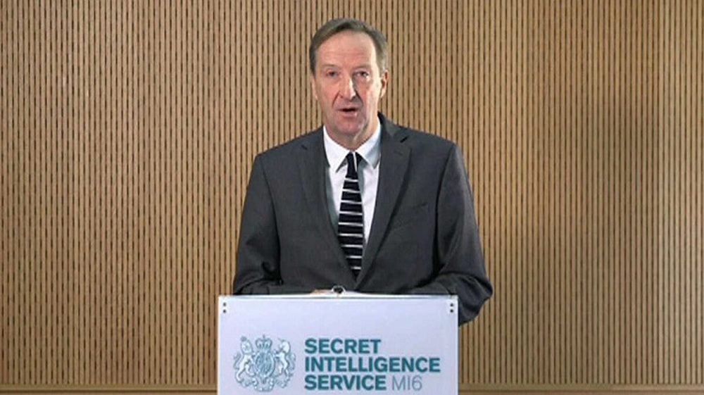 Former MI6 Chief Alex Younger depicts China as 'generational threat' and Russia as 'implacably hostile'