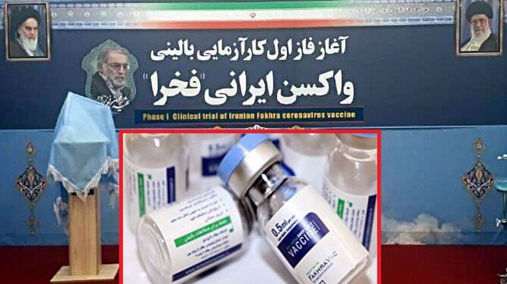 Iran unveils COVID-19 vaccine named to honor assassinated scientist Fakhrizadeh