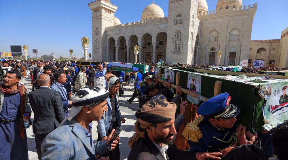 'Stop arms sales to killers of innocent Yemenis'