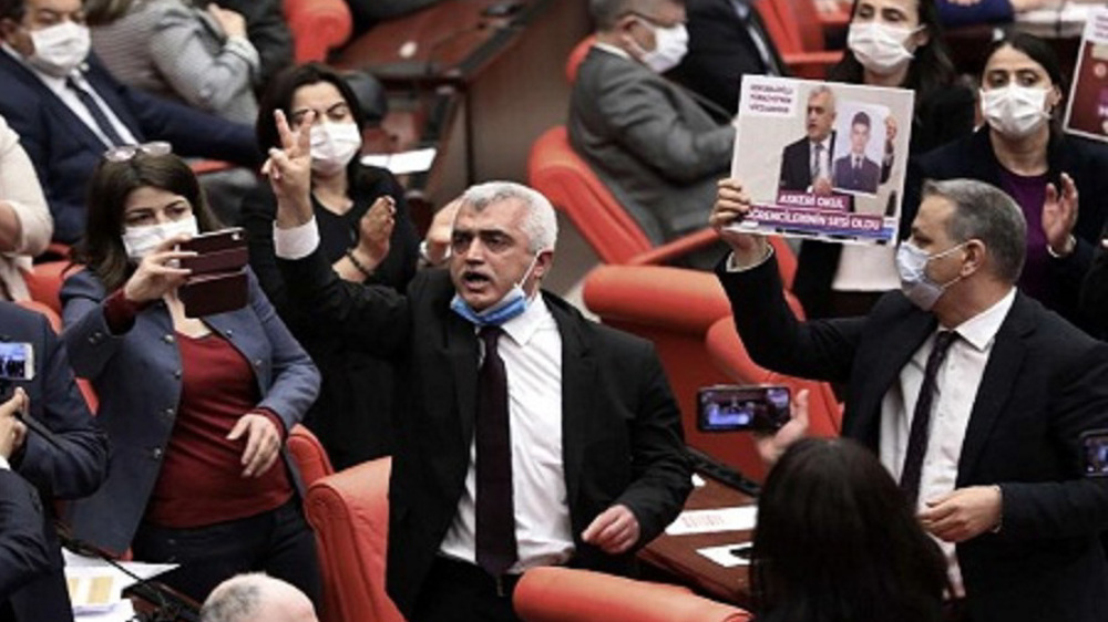 Turkey arrests, expels pro-Kurdish MP after parliament immunity revoked